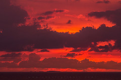 Every whisper (Shanti Gilbert) Tags: sunset orange clouds dark mexico jalisco puertovallarta cloudporn darkclouds