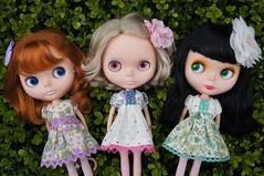Three very special girls
