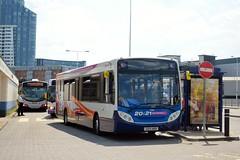 Route 20 (PD3.) Tags: uk england bus buses 21 hard hampshire portsmouth 20 quays stagecoach southsea enviro psv pcv gunwharf adl hants 27869 aoo gx13 e30d gx13aoo