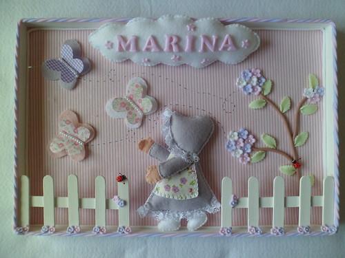 Seja Bem Vinda Marina!