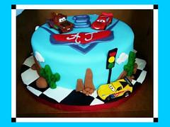 Cars Cake, El Paso, TX, www.birthdaycakes4free.com (2)
