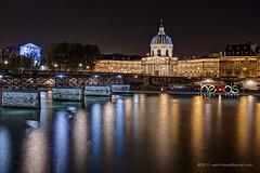 Instituto de Francia (santi.heads) Tags: paris france rio seine night river noche natural institute heads nocturna francia hdr sgc instituto sena
