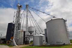 Grain Bins (UnitedSoybeanBoard) Tags: horizontal grain storage bin bins drying