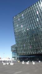Rejkavik Opera (tedesco57) Tags: house building glass modern iceland opera reykjavik orchestra symphony icelandic cubic harpa rejkavik