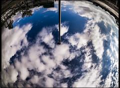 ground control (emersonik) Tags: sky cloud clouds lens landscape paisagem céu fisheye nuvens nuvem lente lentes lenses objetiva objetivas