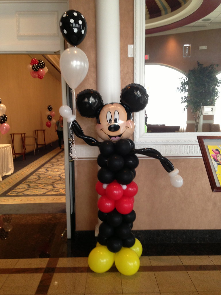 Mickey Mouse Makinmemories4u Tags Birthday Decorations Party Baby Chicago Balloons