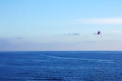 humanize (eran hakim) Tags: sea cloud kite nature fly rainbow flight human galaxy deniz cosmos parasailing bulut uçurtma dalga