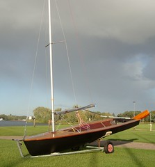 Phantom dinghy sail no. 671