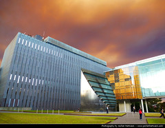 Bushfires, Sydney, Australia (JH_1982) Tags: new red sky orange cloud color colour colors crimson yellow fog wales campus grey colorful university colours south sydney apocalypse foggy australia nsw ash colourful australien doomsday bushfires australie bushfire        sdney
