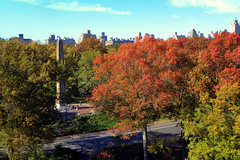 Cleopatras Needle (Eddie C3) Tags: nyc newyorkcity autumn centralpark manhattan parks autumncolor nycparks