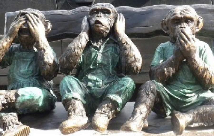 Три обезьяны: МВД, Генпрокуратура, Газпром