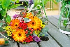 Bouquet (Ellen Munro) Tags: flowers wedding slr film 35mm pentax marriage 35mmfilm bouquet analogue programa londonwetlandcentre filmslr pentaxprograma