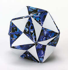 Origami création - Didier Boursin - Boule