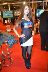 Jessica Hayes (Tanvir's Pics 2010) Tags: girl promo birmingham jessica ring international hayes nec autosport 2014 vision:people=099 vision:face=099 vision:text=0597 vision:outdoor=0521