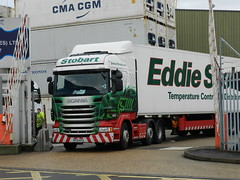 PF13HTU H6731 Eddie Stobart Scania 'Leanne Cheryl' (graham19492000) Tags: portsmouth eddie scania stobart leannecheryl h6731 pf13htu