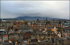 Cityscape (Samantha Elle) Tags: new old city urban mountain buildings landscape scotland edinburgh cityscape rooftops victorian