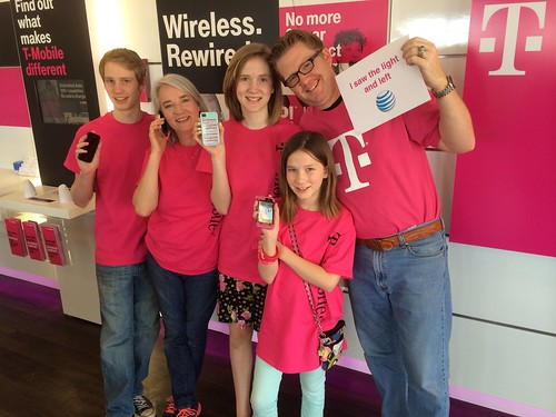 Our Family Ditched AT&T & Joined T-Mobil by Wesley Fryer, on Flickr