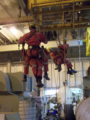 Rope Access Rescue Training (Craig Hannah) Tags: uk work photography photos offshore hannah images gas northsea craig oil job height career workatheights craighannah