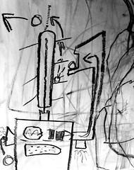 That's the Way That the World Goes 'Round (Mrs. Bones) Tags: chalk machine doodle thatsthewaythattheworldgoesround happyenchilada universalmasterplan