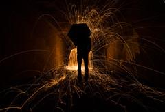 Back to the Burner (K. John Wagner) Tags: longexposure nightphotography light lightpainting wool night painting fire photography wire long exposure steel steelwool wirewool firepainting