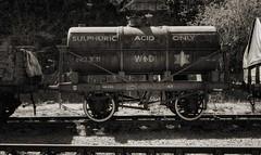 Sulphuric Acid (lovestruck.) Tags: uk england train bristol wagon geotagged harbour railway goods steam geo:lat=51447134854317774 geo:lon=26020753383636475