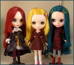 Vivienne, Margot and Emmaline