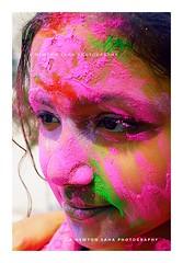 Chaoni Te Rong (newtonsaha2012) Tags: color kids children play holi basanta newton abir siliguri santiniketan basundhara