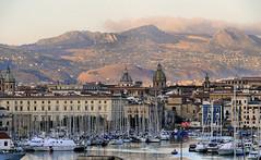 Benvenuti! (CiccioNutella) Tags: italy panorama harbor italia porto sicily palermo sicilia
