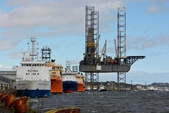 Down By The River. (stonefaction) Tags: docks river boats scotland harbour dundee ships tay vessels
