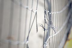 Good as new (aleadam) Tags: knot flickrfriday nudo net beach volleyball old broken fixed aleadam alejandroadam