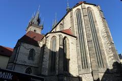 Church of Our Lady before Týn (Hythe Eye) Tags: prague praha czechrepublic sunshine churchofourladybeforetýn