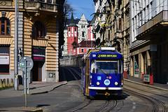 Tatra T3R.SLF #69 DPML Liberec (3x105Na) Tags: tatra t3rslf 69 dpml liberec tschechien czechy českárepublika strassenbahn strasenbahn tramwaj tram tramvaj