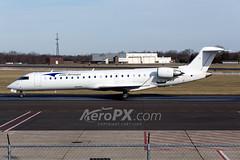 Elite Airways Bombardier CRJ-701ER (CL-600-2C10) - N11EA (AeroPX) Tags: aeropx bombardiercrj700 caryliao eliteairways ewing kttn n11ea nj newjersey ttn trentonmercercountyairport