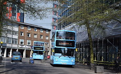 National Express Coventry's latest arrival; Dennis Trident/Alexander ALX400, 4144 (paulburr73) Tags: 4144 y738toh resurrected reborn returned dennis trident newin2001 april 2017 spring alx400 alexander bc birminghamcentral yw yardleywood replacement midlands westmidlands nxc nationalexpress coventry h4728f bus 4224 buses doubledecker