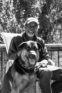Richard and his dog Nelson
