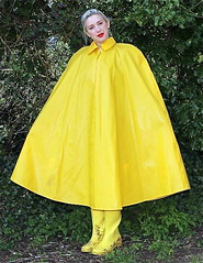 d1ae7cd7502adc3dc512de4427cc8e1d (npeter50) Tags: yellow raincape boots