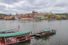 Städte - Prag und Moldau (barbaraprinz) Tags: moldau vitava prag praque