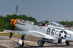 """""""Old Crow"""" (pdebree) Tags: airshow plane airplane aircraft aeroplane flight fly flying flown flew flies mustang p51 p51d p51mustang p51dmustang oldcrow"""