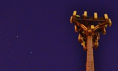 ISS Pass Pix Fail (Cowboy Dan Paasch) Tags: light pollution fort worth att cell tower