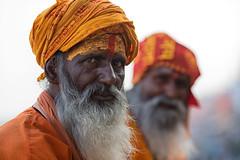 The chosen journey~ Varanasi (~mimo~) Tags: india people asia docimentary photography street travel swami holy man orange turban face color beard portrait streetphotography varanasi