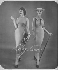 Oleg Cassini 1956 (barbiescanner) Tags: fashion vintagefashion 50s 50sfashion vintageads vintage retro olegcassini annegunning