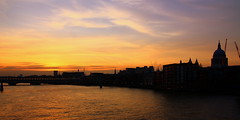 Southwark Bridge sunset (m5cjk) Tags: m5cjk visitlondon londonbynight londoncity