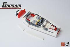 23. Gundam Shield Rear (Structure) (Sam.C (S2 Toys Studios)) Tags: rx782 gundam mobilesuit legogundam lego moc samc s2toys 80s scifi mecha anime japan spacecraft