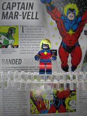 Captain Mar-vell (Spc_Cw8y) Tags: lego marvel custom avengers minifigure encyclopoedia encyclopedia captain marvell