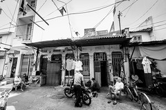 A corner of the old China town (tumivn) Tags: monochrome blackandwhite a99ii chinatown zeiss1635