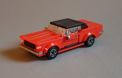 1966 Ford Mustang GT Hardtop (MOCs & Stuff) Tags: lego city town 1966 ford mustang hardtop 389 v8