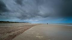 all alone (peter manintveld) Tags: fujixt2 xt2 ellemeet fujixf1024mmf4rois lucht on1raw strandellemeet sky beach zand sand