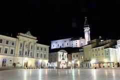 Piran - Istria - Slovenija (Roby_BG) Tags: pirano piran slovenia night notte luci lights nocturne