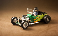 Ford T-Bucket Hot Rod (_Tiler) Tags: lego car vehicle ford tbucket hot rod roadster