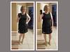 Taylor LBD (krislagreen) Tags: turbocollage tg tgirl transgender transvestite cd crossdress dress silver rose patent lbd hose blond femme feminized feminization